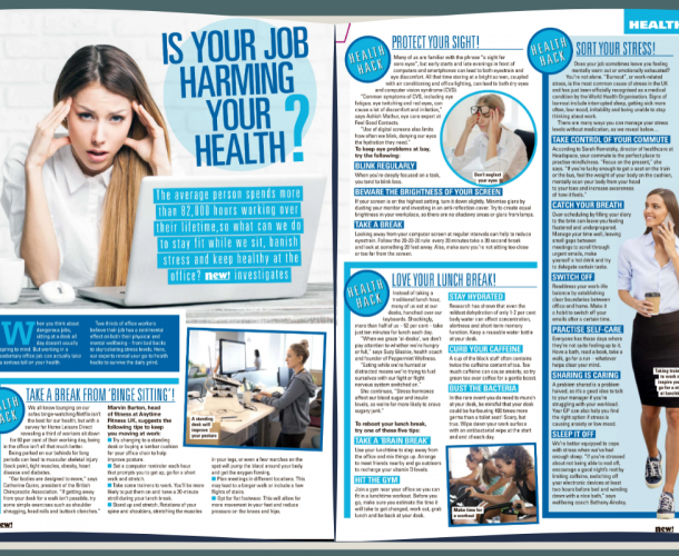 Bethany Ainsley, Wellbeing Specialist, New Magazine